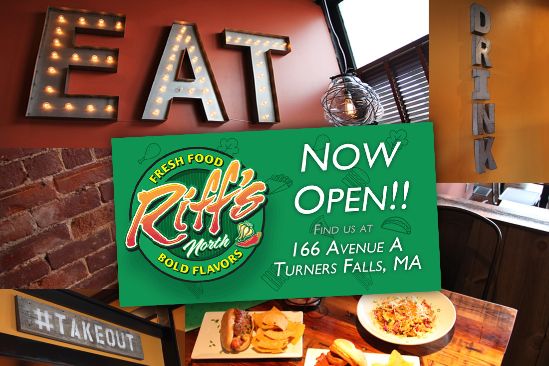 Riff's North - Open in Turners Falls, MA